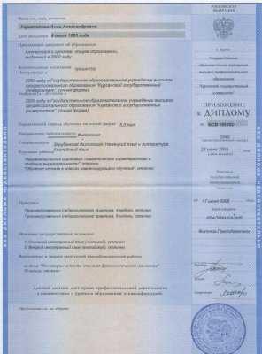 Копия диплома